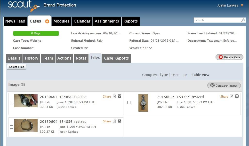 Files Case Management Software