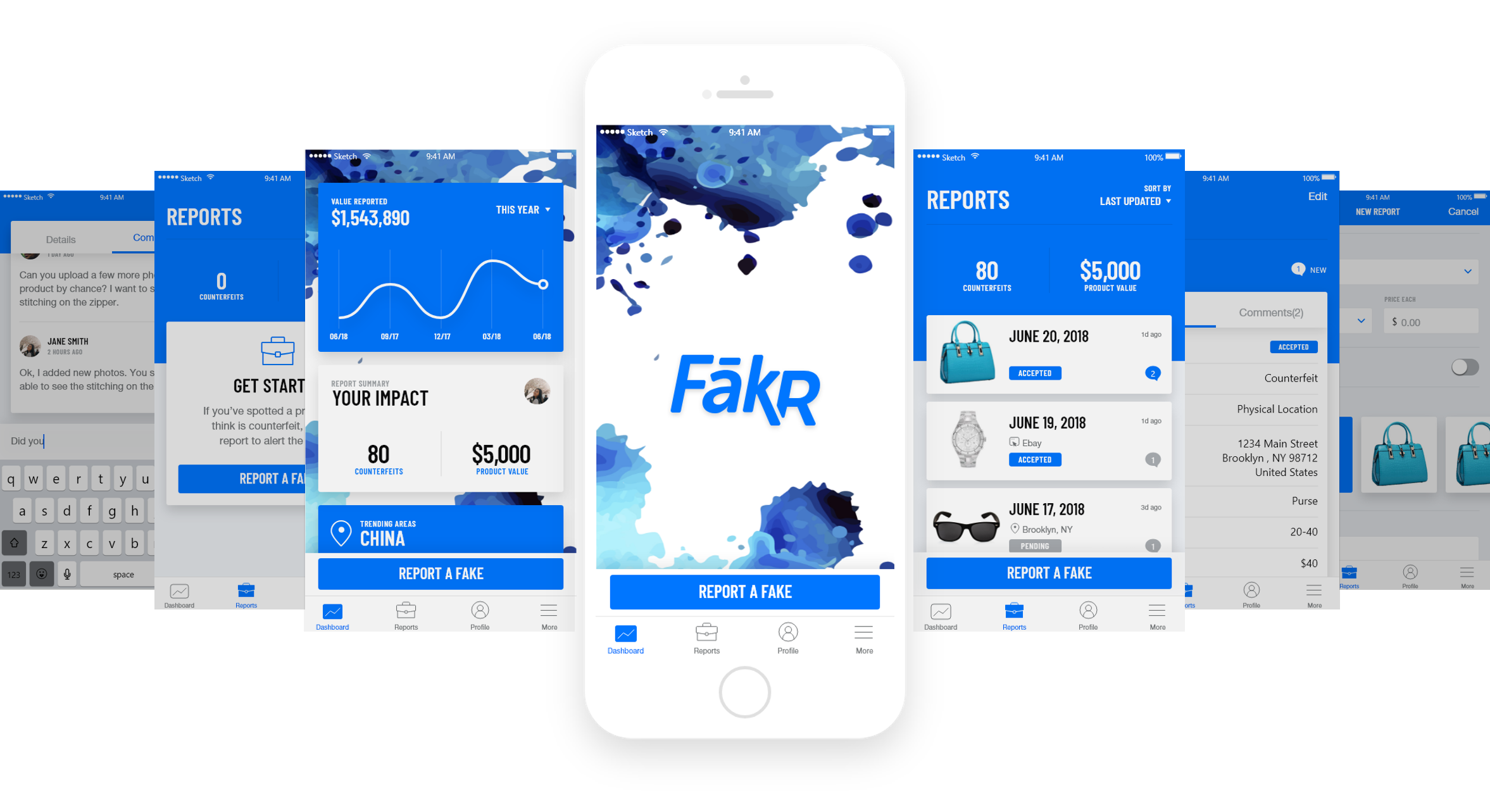 FakR Product Screenshot